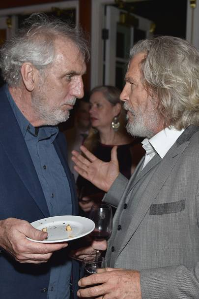 Phillip Noyce and Jeff Bridges