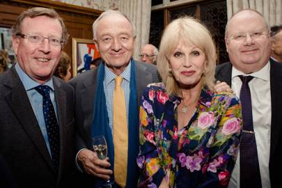 Lord Trimble, Ken Livingstone, Joanna Lumley and Eric Pickles