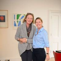 Lady Vicky Conran and Sophie Conran