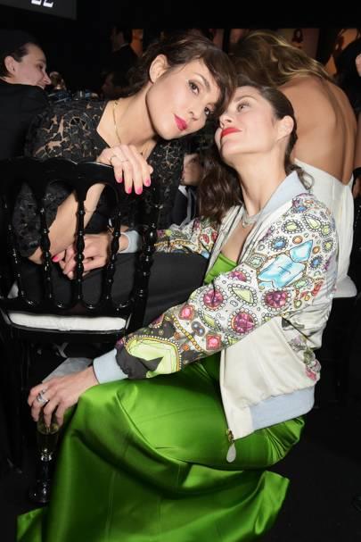 Noomi Rapace and Marion Cotillard