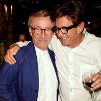Jasper Conran and Francesco Boglione