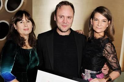 Alexandra Shulman, Nicholas Kirkwood and Natalie Massenet