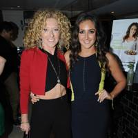 Kelly Hoppen and Natasha Corrett