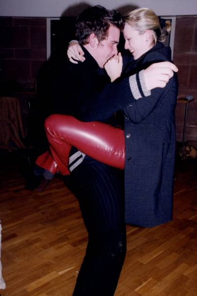 Paddy King and Helen Fielding, 2000