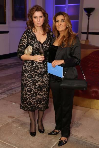 Christina White and Leyla Aral