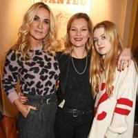 Meg Matthews, Kate Moss and Anais Gallagher
