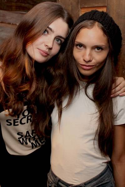 Ewelina Pekalska and Naima Bossi