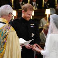 Justin Welby, Prince Harry and Meghan Markle