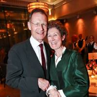 Sir Nicholas Serota and Angela Bernstein