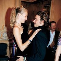 Jodie Kidd and Sebastian Baker