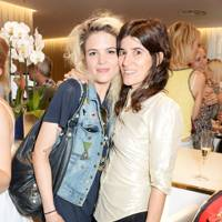 Alison Mosshart and Bella Freud