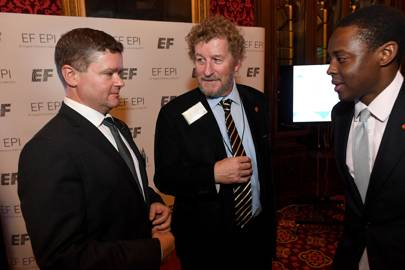Christopher McCormick, Sebastian Faulks and Bim Afolami