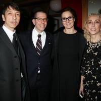 Pierpaolo Piccioli, Jonathan Newhouse, Maria Grazia Chiuri and Franca Sozzani