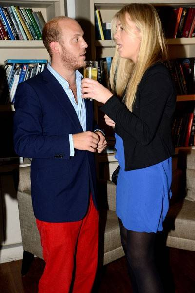 Carlo Carello and Chelsy Davy
