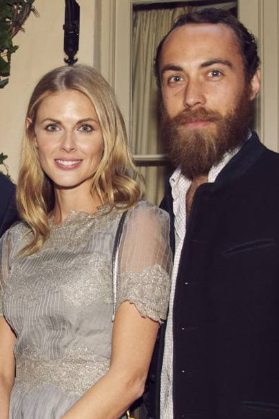 Donna Air and James Middleton