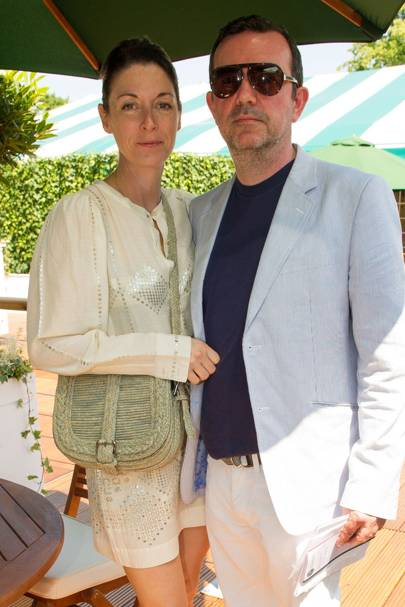 Mary McCartney and Simon Aboud