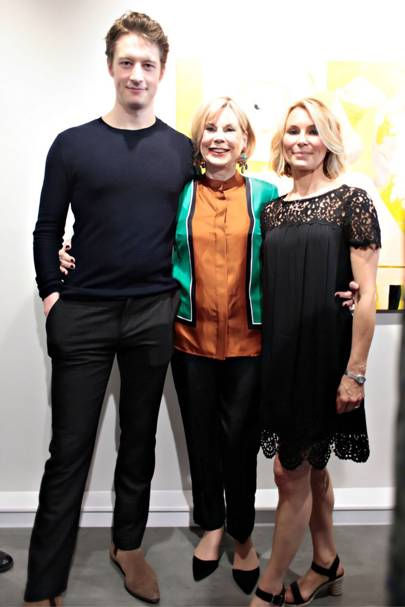 Lorne MacFadyen, Tina Moore and Roberta Moore