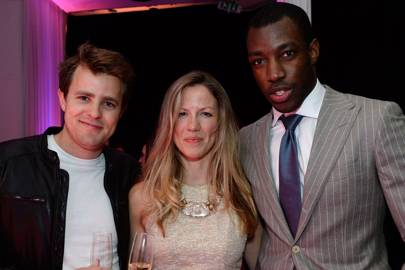 Jerome Darker, Catherine Rhind and Anthony Adebo