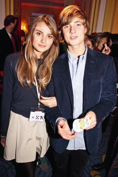 Milana Von Traun and Aristide Faggionato