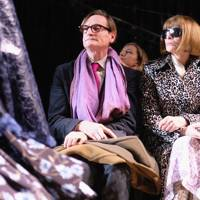 Hamish Bowles and Anna Wintour attend Michael Kors