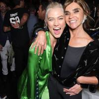 Karlie Kloss and Carine Roitfeld