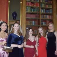 Bogdana Boneva, Francesca Napper, Georgina Billingham, Bonnie Fairgrieve, Gemma Gibbs and India Ross