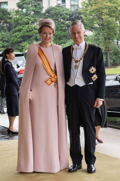 King Philippe of Belgium and Queen Mathilde of Belgium