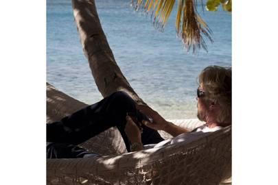 The 'office' for Richard Branson aka Necker Island (2014)