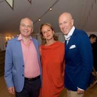 David Landsman, Caroline Michel and Dylan Jones