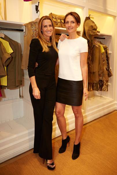 India Hicks and Saffron Aldridge