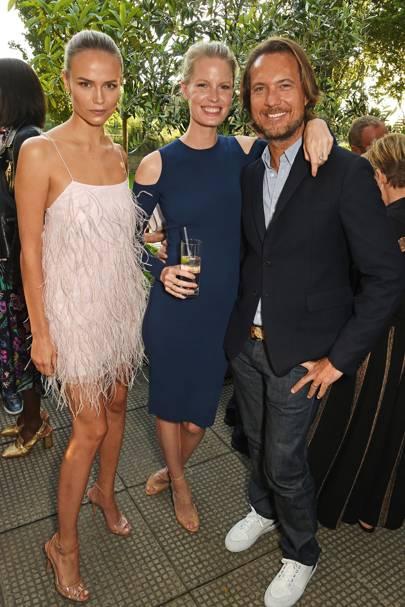 Natasha Poly, Caroline Winberg and Lance LePere