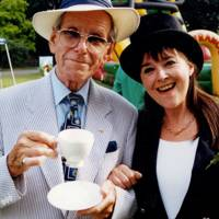 Bob Holness and Gillian Walker