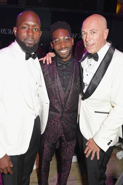 Dumi Oburota, Tinie Tempah and Dylan Jones