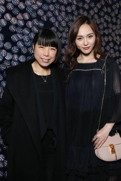 Angelica Cheung and Tang Yan
