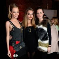 Poppy Delevingne, Cara Delevingne and Chloe Delevingne