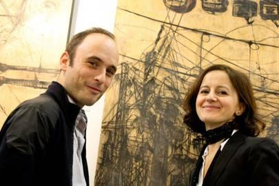 Charlie Taylor and Ana Delgado