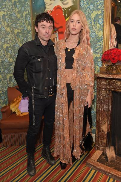 Robbie Furze and Lady Mary Charteris