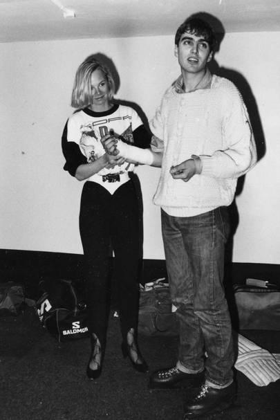 Caroline Neville and Fayez Baysid