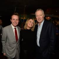 Archie Manners, Mika Simmons and Rory Bremner