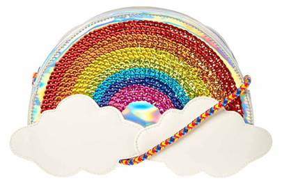 Claire's rainbow bag