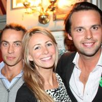 James Middleton, Anneke von Trotha Taylor and Charlie Gilkes