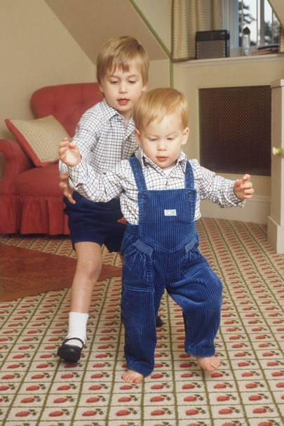 Prince William and Prince Harrt