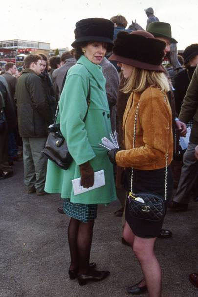 Cheltenham Races - The Queen Mother & Lord Vestey