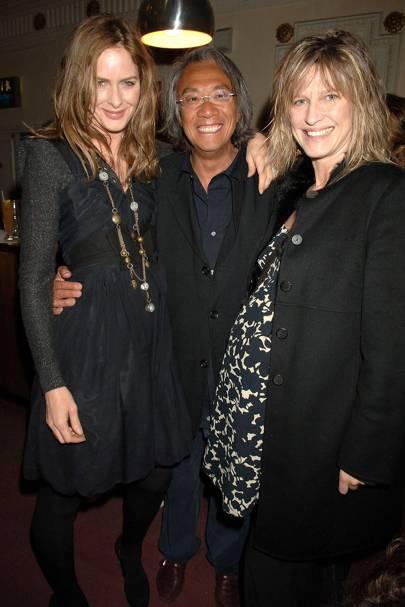 Trinny Woodall, Sir David Tang and Nicola Formby, 2007