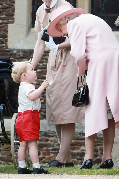 The Queen and Prince George