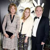 Lady Lloyd-Webber, Lord Lloyd-Webber and Isabella Lloyd Webber