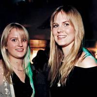 Annabel Deakin and Alice Ferguson