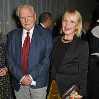 Sir David Attenborough and Miranda Richardson
