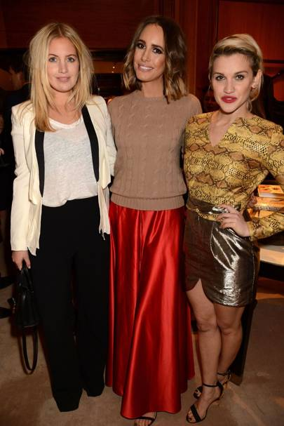 Marissa Montgomery, Louise Roe and Ashley Roberts