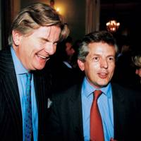 Sir Richard Osborn and Richard Graham
